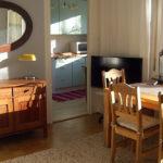 möblierte Wohnung Nürnberg auf Zeit - Wohnraum mit Blick in die Küche